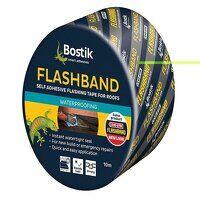 Flashband Roll Grey 75mm x 10m