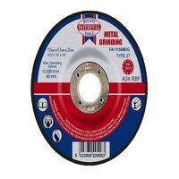 Depressed Centre Metal Grinding Disc 115 x 6.5 x 2...