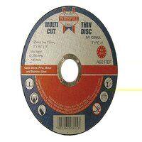 Multi-Purpose Cutting Discs 125 x 1.0 x 22.23mm (P...