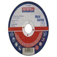 Metal Cut Off Disc 125 x 3.2 x 22.23mm