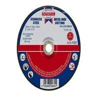 Depressed Centre Stainless Steel Cutting Disc 230 ...