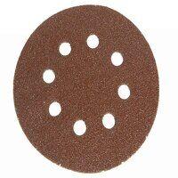 Hook & Loop Sanding Disc DID3 Holed 125mm Very Fine (Pack 5)