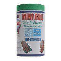 Aluminium Oxide Sanding Paper Roll Green 115mm x 1...
