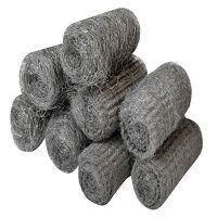 Steel Wool, Assorted Grades 20g Rolls (Pack 8)