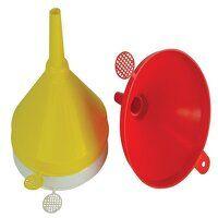 Plastic Funnel 150mm Set, 3 Piece