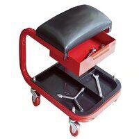 Seat On Wheels C/W Tray & Drawer