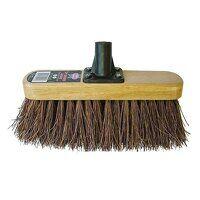 Bassine Varnished Broom Head 300mm (12in) Threaded Socket