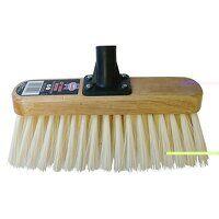 Soft Cream PVC Bristle Broom Head 300mm ...
