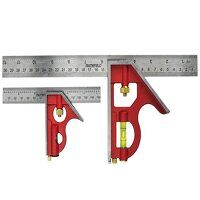 Combination Square Twin Pack 150mm (6in) & 300mm (...