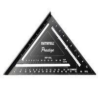Prestige Quick Square Black Aluminium 300mm (12in)