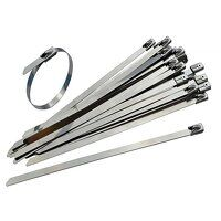 Stainless Steel Cable Ties 4.6 x 290mm (Pack ...