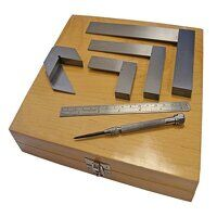 Engineer's Marking & Measuring Set, 6 Pi...