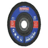 Abrasive Jumbo Flap Disc 100mm Medium
