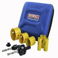 Universal Varipitch Holesaw Plumber's Kit, 9 Piece...