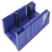 Plastic Mitre Box with Pegs 310mm (12.1/4in)