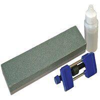 Oilstone 200mm & Honing Guide Kit