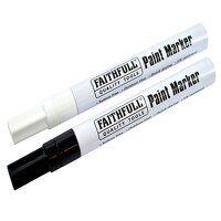 Paint Marker Pen Black & White (Pack 2)