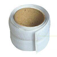 Hook & Loop Self-Adhesive Tape 20mm x 1m White
