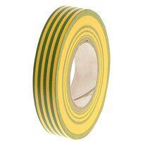 PVC Electrical Tape Green / Yellow 19mm x 20m