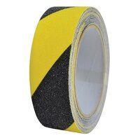 Anti-Slip Tape 50mm x 5m Black & Yellow Hazard