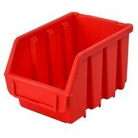 Interlocking Storage Bin Size 2L Red 116 x 212 x 7...