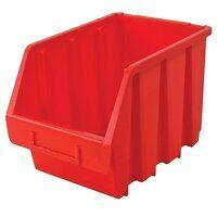 Interlocking Storage Bin Size 3 Red 170 x 240 x 126mm