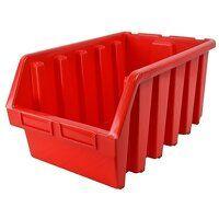 Interlocking Storage Bin Size 5 Red 333 x 500 x 18...