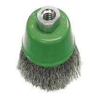 Wire Cup Brush 75mm M14x2, 0.30mm Stainless Steel ...