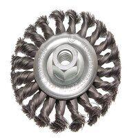 Circular Wire Brush 115 x 12mm M14x2 Bore 0.3...