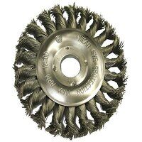 Circular Wire Brush 125 x 12mm 22.2mm Bore 0.50mm ...