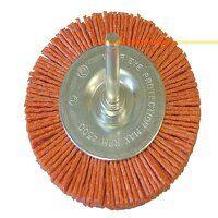 Nylon Circular Brush 100mm x 6mm Shank