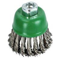 Wire Cup Brush Twist Knot 65mm M14x2, 0....