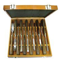Woodcarving Set of 12 in Case