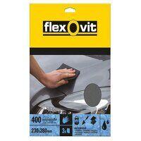Waterproof Sanding Sheets 230 x 280mm Fi...