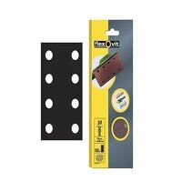 1/3 Sanding Sheets Perforated Coarse 50 Grit (Pack 10)