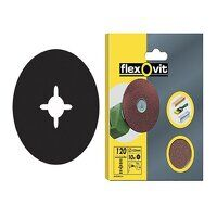Drill Mountable Discs 125mm Fine 120G (Pack 10)