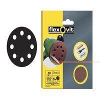 Hook & Loop Sanding Discs 115mm Fine 120G (Pack 6)