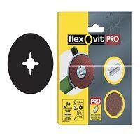 Aluminium Oxide Fibre Discs 115mm Fine 80G (Pack 10)