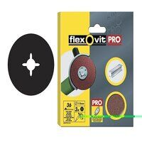 Aluminium Oxide Fibre Discs 125mm Fine 80G (Pack 3)