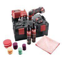 PXE 80 10.8-EC/2.5 P Spot Polisher Set 10.8V 2 x 2.5Ah Li-ion