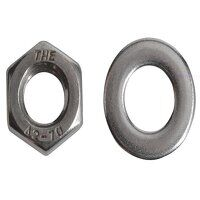 Hexagonal Nuts & Washers A2 Stainless Steel M...