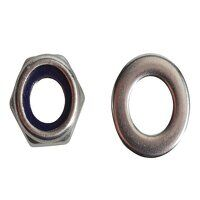 Nyloc Nuts & Washers A2 Stainless Steel M6 ForgePa...