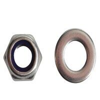 Nyloc Nuts & Washers A2 Stainless Steel M8 ForgePa...