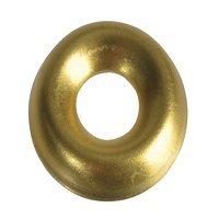 Screw Cup Washers Brass No.8 Forge Pack 20