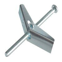 Plasterboard Spring Toggle ZP M3 X 50mm ForgePack 8