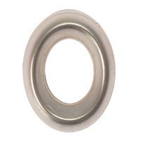 Screw Cup Washers Solid Brass Nickel Plated No.10 Bag 200