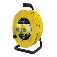 Open Drum Cable Reel 110V 16A 2-Socket 2...