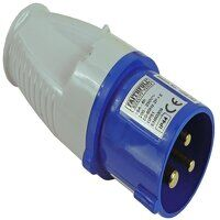 Blue Replacement Plug 16A