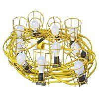 Festoon Lights Low Energy 10 LED Bulbs 110V 22m