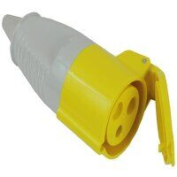 Yellow Socket 32A 110V